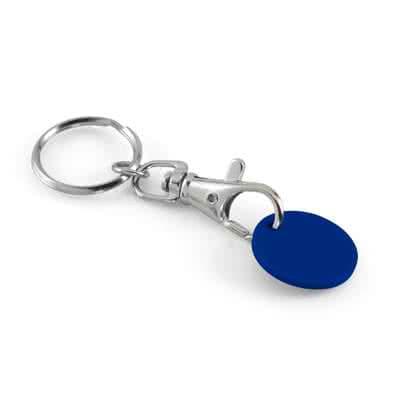 Porte-clés jeton classique avec jeton plastique