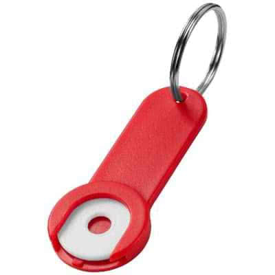 Porte-clé avec jeton Shoppy